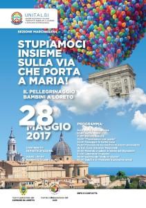 pellegrinaggio Bambini Loreto 2017